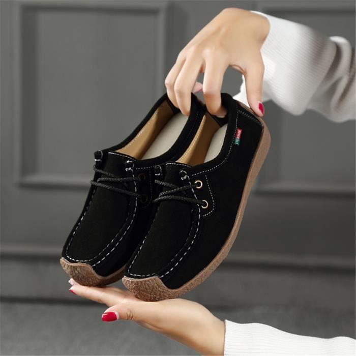 Sneakers Femme Marque De Luxe hiver Chaussure décontractées