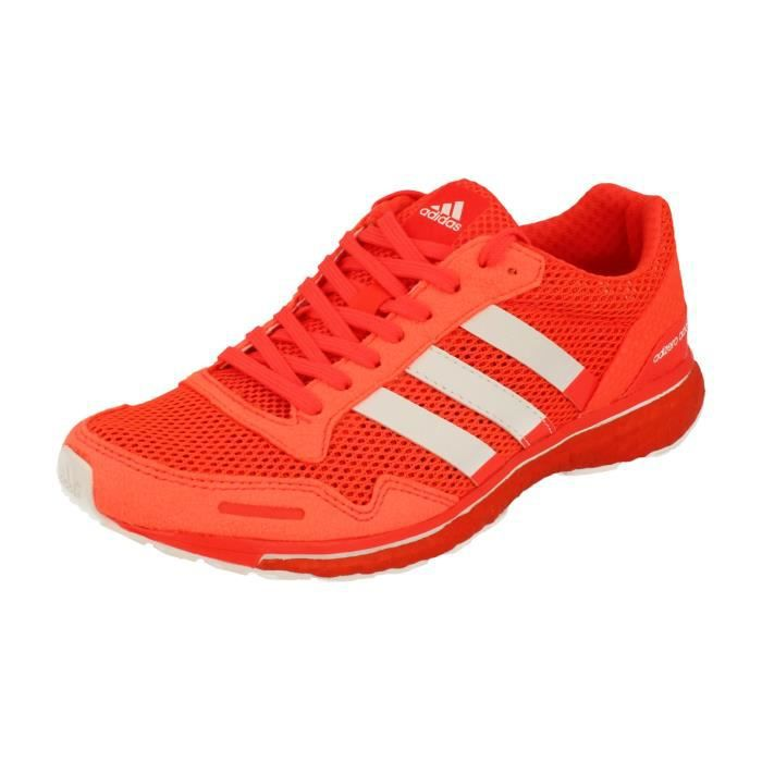 more photos 397f3 690fd Adidas Adizero Adios Boost 3 Femme Running Trainers