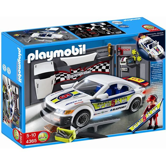 playmobil 4365 voiture tuning effets lumineux achat vente univers miniature cdiscount. Black Bedroom Furniture Sets. Home Design Ideas
