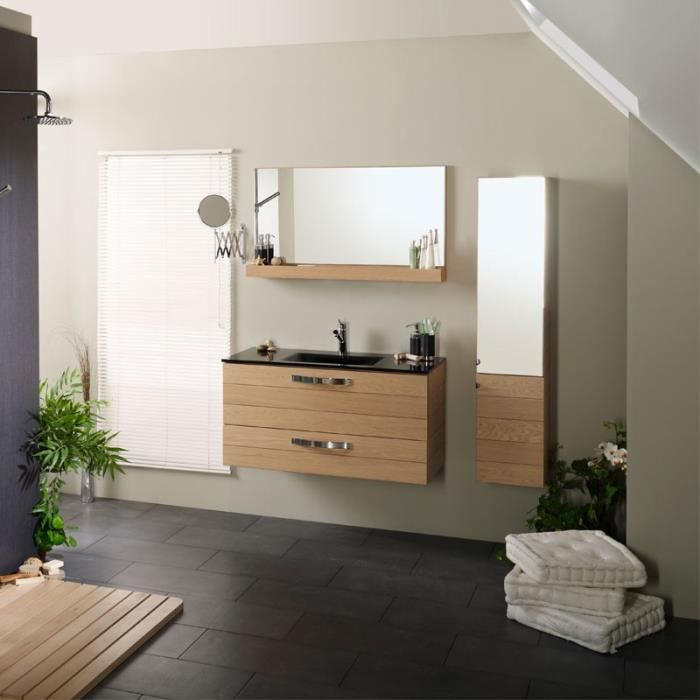 ensemble complet meubles salle de bain hera achat vente salle de bain complete ensemble. Black Bedroom Furniture Sets. Home Design Ideas