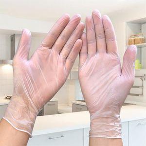 L Nitrile sans Poudre Latex /à Usage Unique Gants de Cuisine Production Alimentaire Entretien M/énager R/éparation M/écanique Recherche Scientifique Atelier dUsine 100 Pcs Gants Jetables