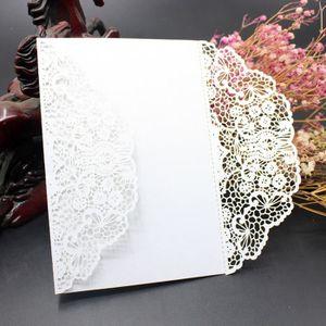 FAIRE-PART - INVITATION Kit de carte d'invitation de mariage de 10Pcs avec