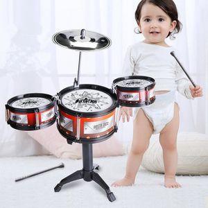 INSTRUMENT DE MUSIQUE Petite Batterie Instrument Jouet d'Imitation Drum