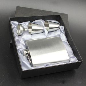 FLASQUE Flacon de poche Pocket de 7 oz en acier inoxydable