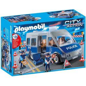 UNIVERS MINIATURE PLAYMOBIL 9236 - City Action - Fourgon de Police
