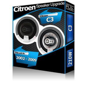 AUTORADIO Citroen C3 Front Door Speakers Fli Audio car speak