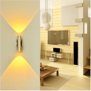 APPLIQUE  2W Applique Murale LED Lampe Murale en  Lumiere In