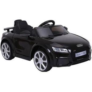 VOITURE ELECTRIQUE ENFANT Audi TT RS Voiture Electrique pour Enfant Noir ave