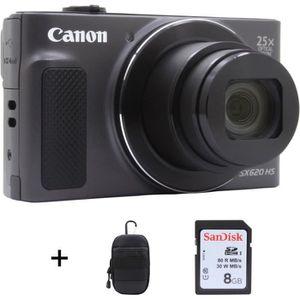APPAREIL PHOTO COMPACT Appareil photo compact CANON Pack SX620 HS Noir +