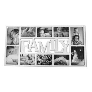 CADRE PHOTO Cadre Photo XL Family  blanc, en polypropylène, po