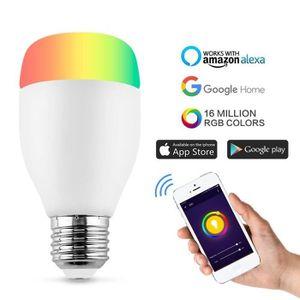 AMPOULE INTELLIGENTE Ampoule WIFI Lampe Intelligente Ampoule Multicolor