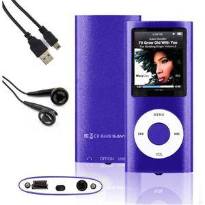 LECTEUR MP4 FOLVO® 4ème 16GO/GB Lecteur MP3 MP4 Player Écran L