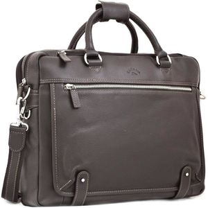SACOCHE INFORMATIQUE Cartable Cuir Porte-ordinateur 15