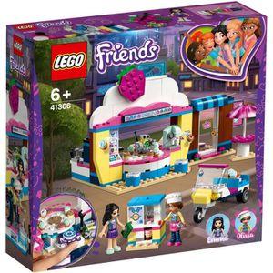 ASSEMBLAGE CONSTRUCTION LEGO® Friends 41366 Le Cupcake Café d'Olivia- Jeu