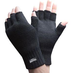 Widmann Paire de gants squelette sans doigts Mens taille unique vd-wdm95703 noir