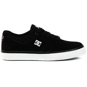 DC Shoes Baskets Toile Noir Blanc (31 - Médium - noir) z5V2Y0