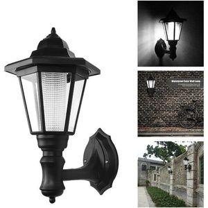 LAMPE DE JARDIN  Lampe solaire LED imperméable applique murale pour