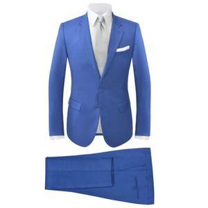 BARRE DE PENDERIE Costume à 2 pièces pour hommes Bleu royal Taille 5