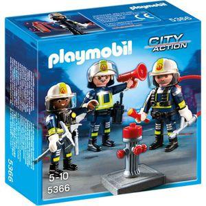 UNIVERS MINIATURE PLAYMOBIL 5366 - City Action - Unité de Pompiers