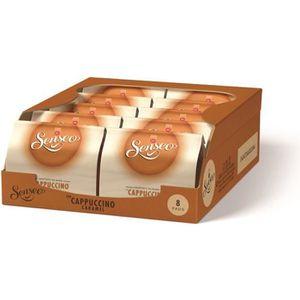 CAFÉ Senseo Cappuccino Caramel 10 x 8 Dosettes de Café