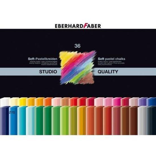 Box of 36 Eberhard Faber EFA Soft Pastel Card