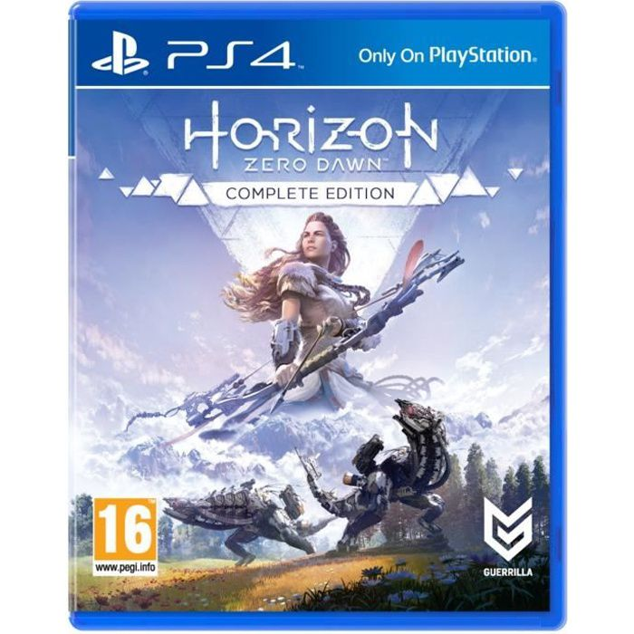 Horizon Zero Dawn - Complete Edition Jeu PS4