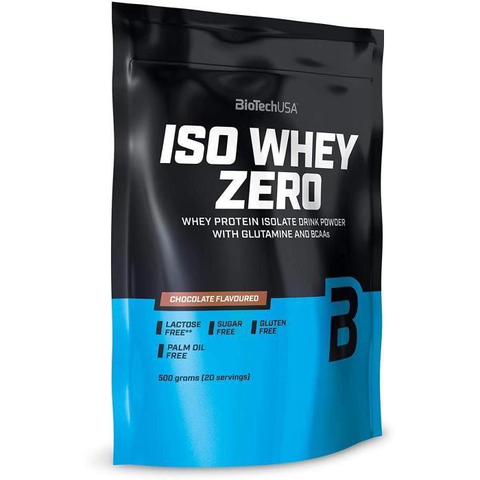Iso Whey Zéro 500 g saveur de chocolat[1044]