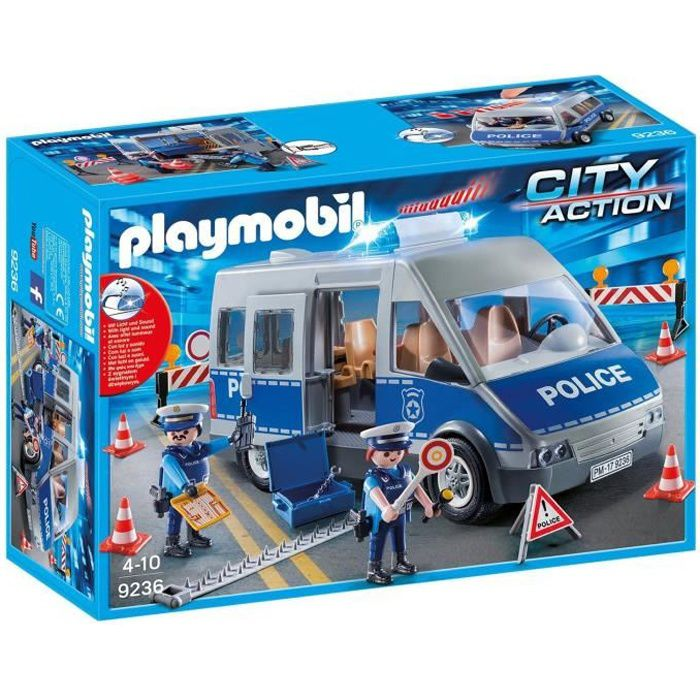 PLAYMOBIL 9236 - City Action - Fourgon de Police
