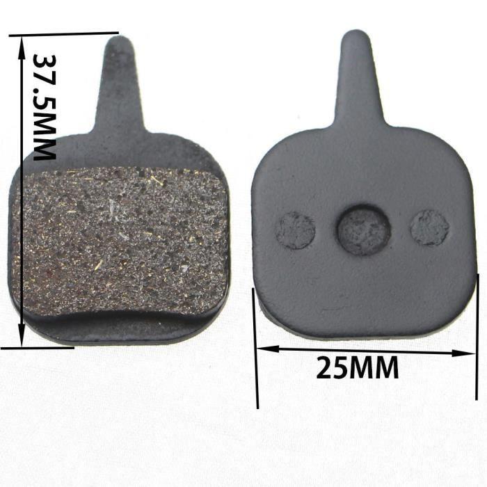 Pièce Détachée,1 paire-2 pièces vtt VTT plaquettes de frein pour Shimano M445 355 395 pièces de vélo cyclisme résine - Type SKU18