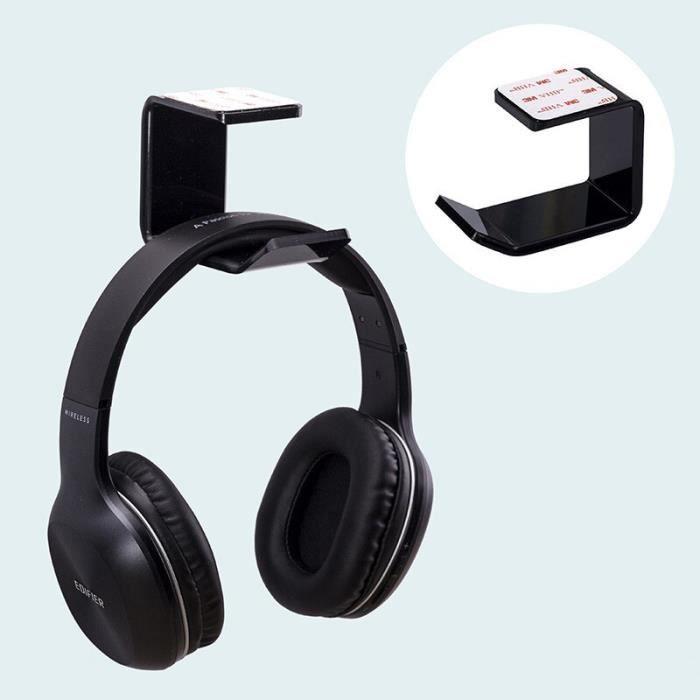 W4614 Accessoires pour écouteurs casque support de casque cintre écouteur mur-bureau présentoir support cintre support de casque s
