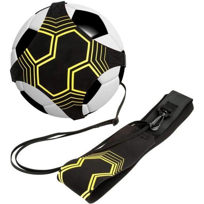 Football Kick/Lancer Entraîneur Solo Entraînement Pratique de Contrôle de l'Aide à la Formation Ceinture Réglable pour Enfants Adult