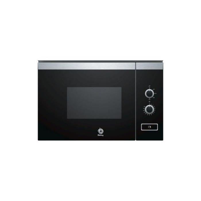Micro-ondes intégrable Balay 3CP4002X0 20 L Noir