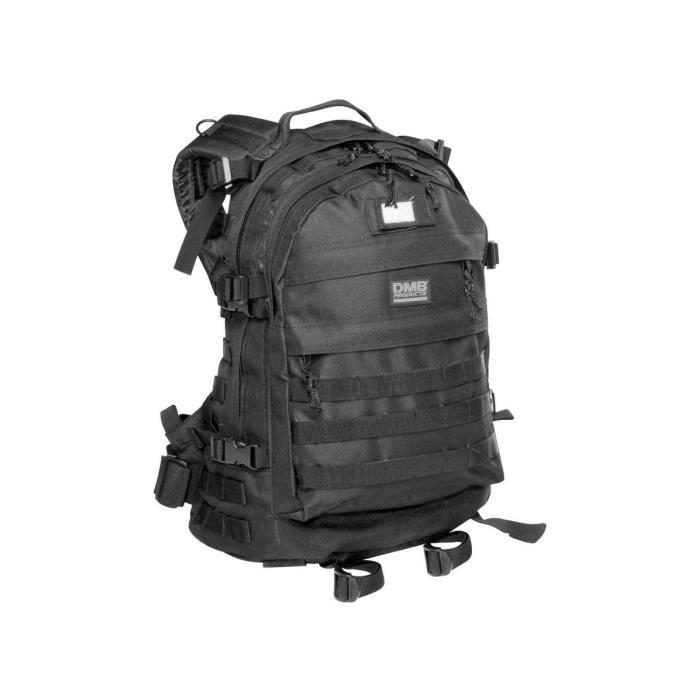 Sac à dos spécial commando noir 45L - DMB