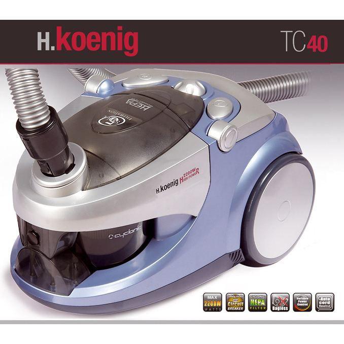 H. KOENIG TC40 2200W BLEU