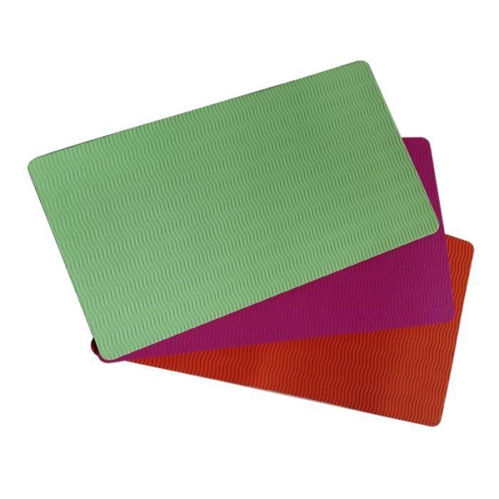 2 pièces 38x21x0.6 cm Yoga genouillère soulagement de la douleur Pilates Fitness TAPIS DE SOL - TAPIS DE GYM - TAPIS DE YOGA