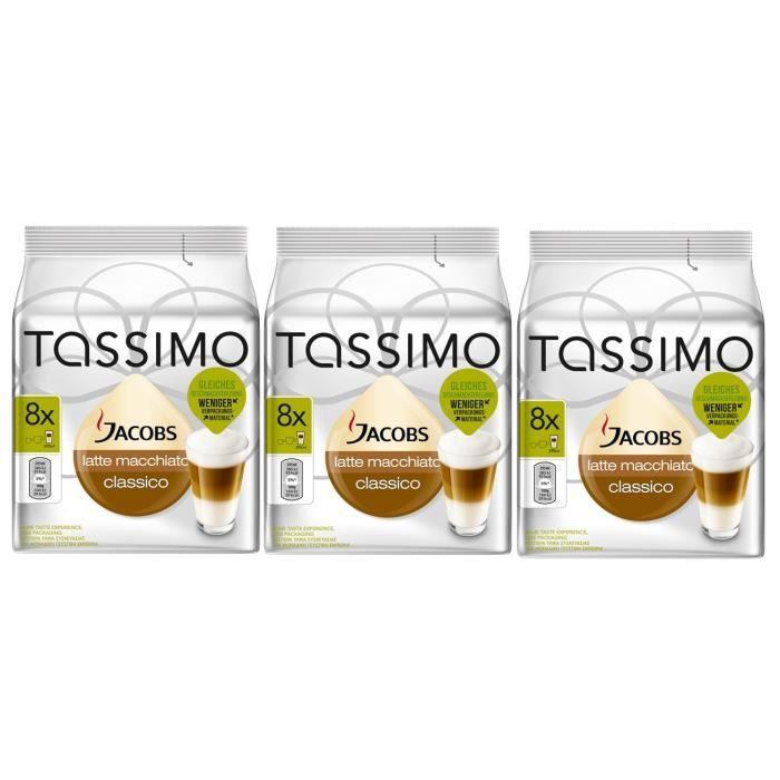 TASSIMO Jacobs Latte Macchiato Classico 24 Dosettes