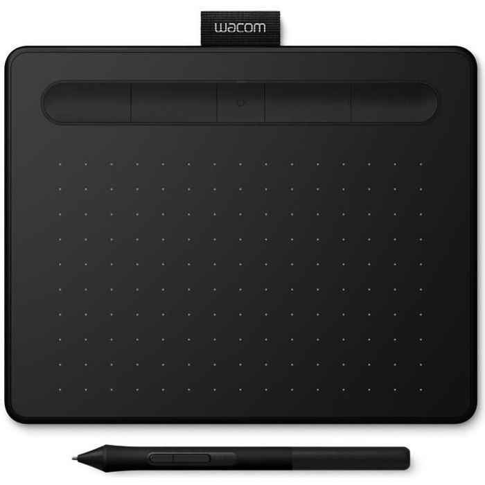 WACOM Tablette Graphique Intuos S Bluetooth - Black