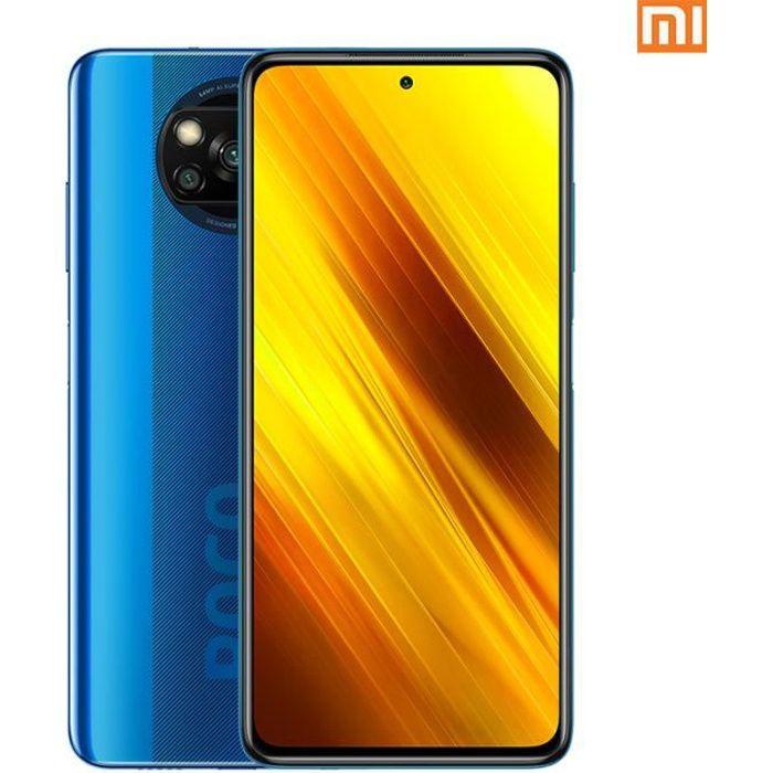 Xiaomi Pocophone X3 6Go 128Go Bleu Smartphone 4G
