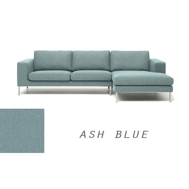 grand canape moderne angle droit en tissu bleu azur napoli achat vente canap sofa divan. Black Bedroom Furniture Sets. Home Design Ideas