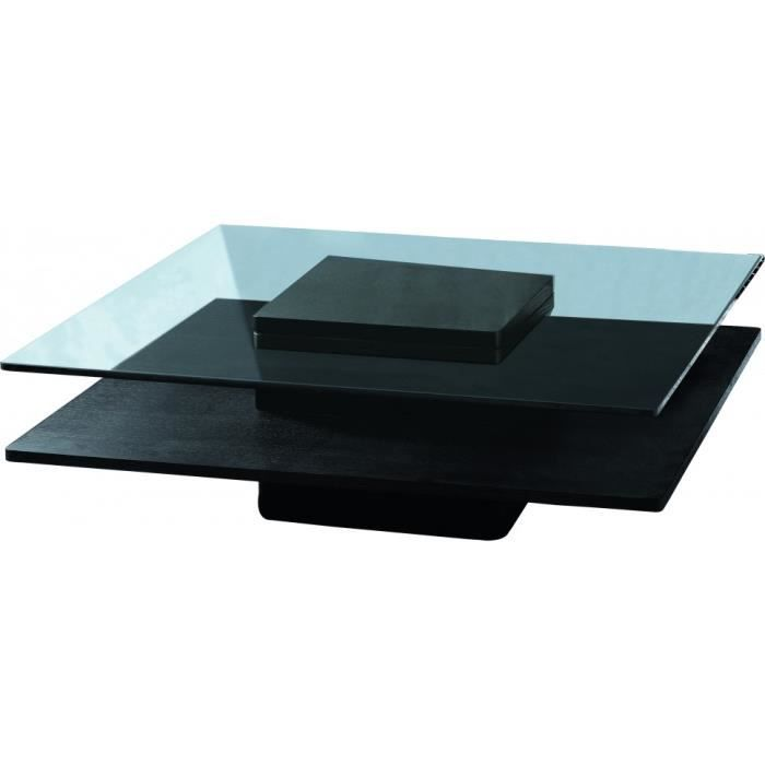 Table basse couleur weng plateau en verre tremp achat vente table basse - Plateau de table en verre trempe ...