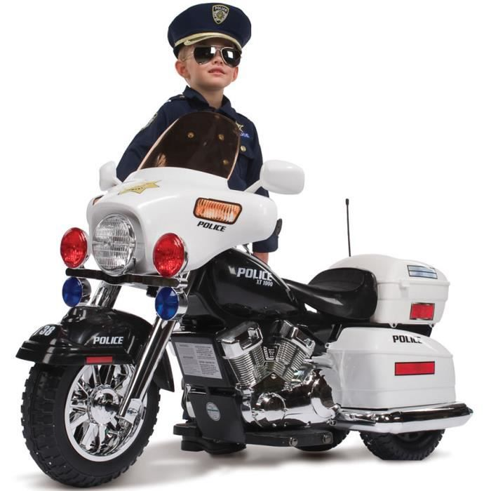 moto electrique enfant police achat vente moto. Black Bedroom Furniture Sets. Home Design Ideas