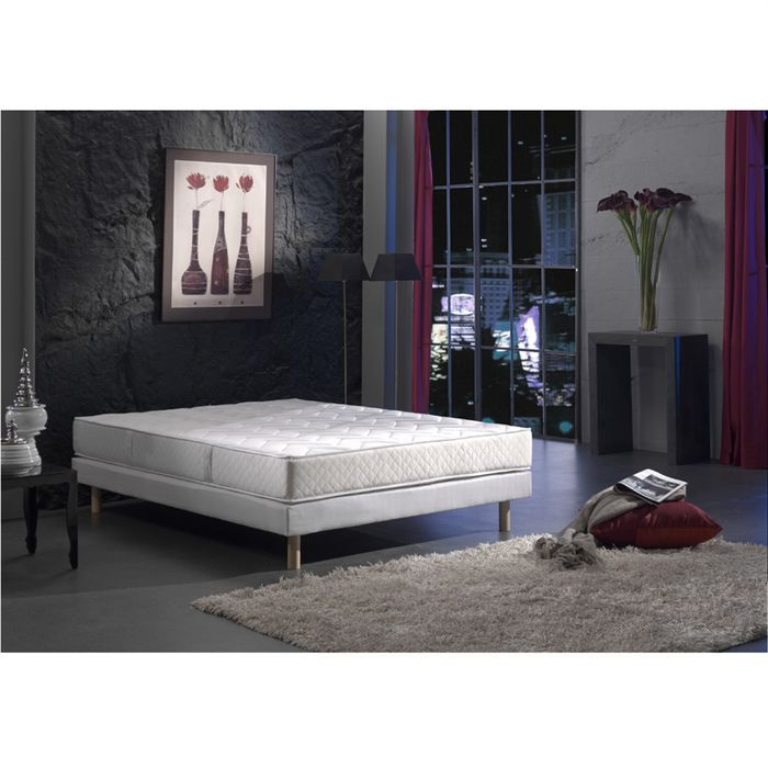 creasom matelas 140x190cm 23cm 588 ressorts ensach s ferme. Black Bedroom Furniture Sets. Home Design Ideas