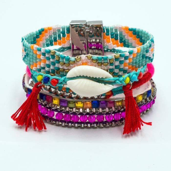 bracelet bresilien argent