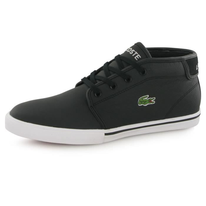 fb2ff1bf33 Lacoste Ampthill Lcr3 , baskets mode homme Noir - Achat / Vente ...
