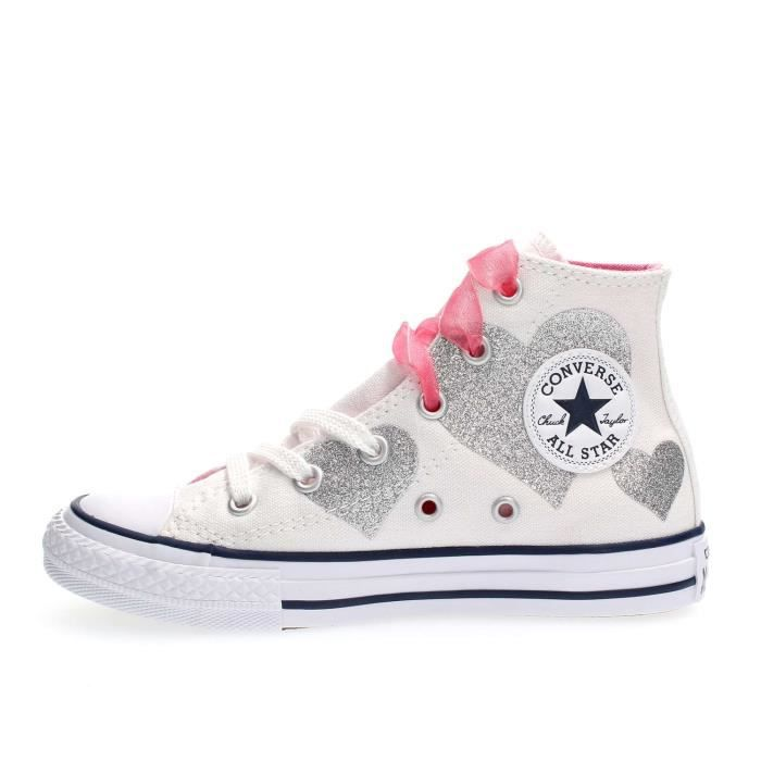 CONVERSE SNEAKERS fille WHITE, 36