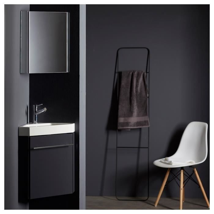 pack lave mains d 39 angle gris anthracite achat vente. Black Bedroom Furniture Sets. Home Design Ideas