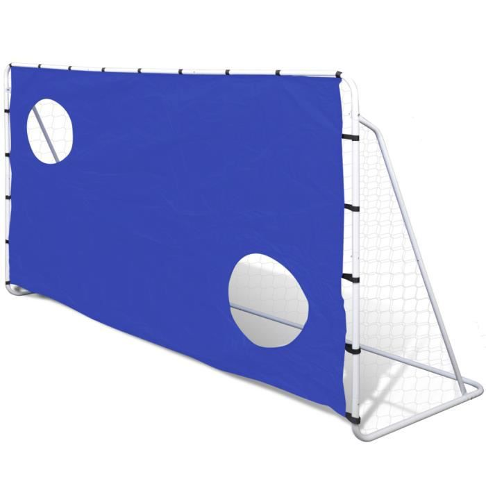 MINI-CAGE DE FOOTBALL vidaXL But de Football avec Cibles 240 x 92 150 cm