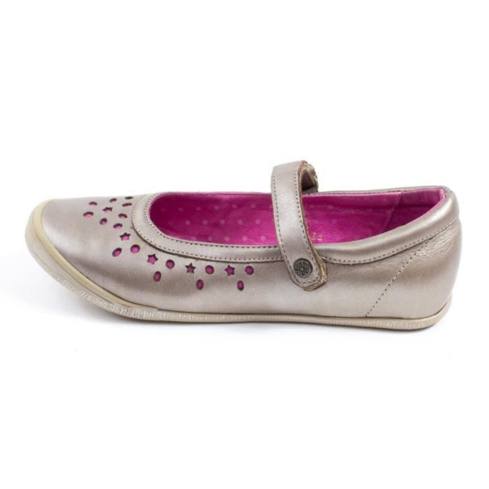 Le Loup Blanc Ballerines HELONA or
