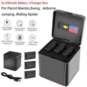 DRONE 3x 630mAh Batterie Pour Parrot Mambo Mini Drones S