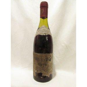 VIN ROUGE beaujolais vernaux pisse dru rouge 1976 - beaujola